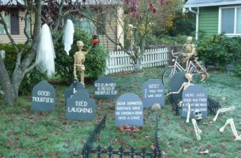 70 Spooky Halloween Decorations Ideas
