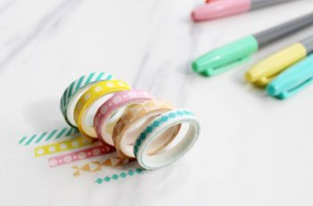 20 Creative Ideas Using Washi Tape