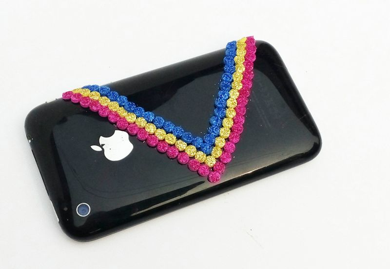 DIY Apple iPhone Casing Decoration Ideas
