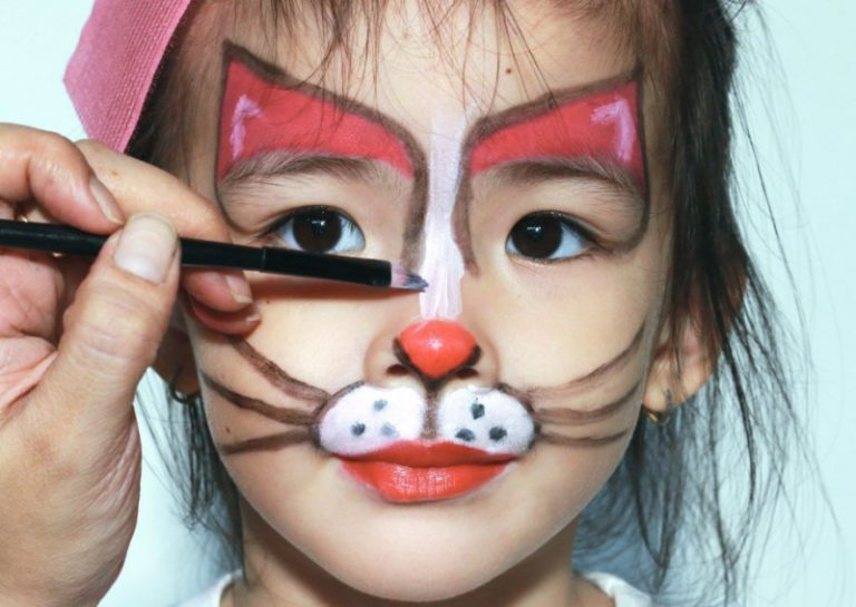 45 Easy Face Painting Ideas for Kids