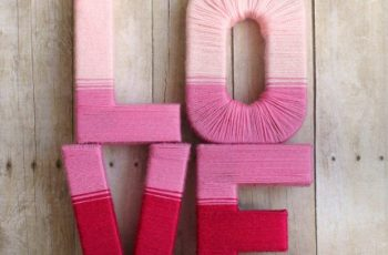 Cute DIY Valentine Decorations for Your Home